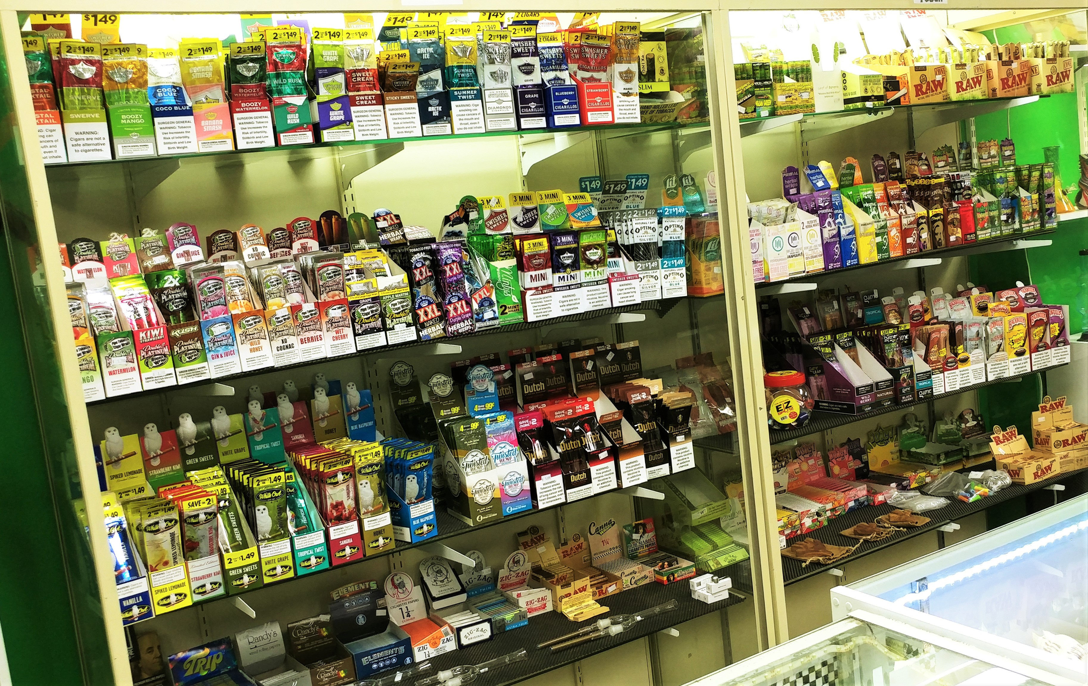 Tobacco Products & Wraps | St  Cloud, MN | Buddha Glass